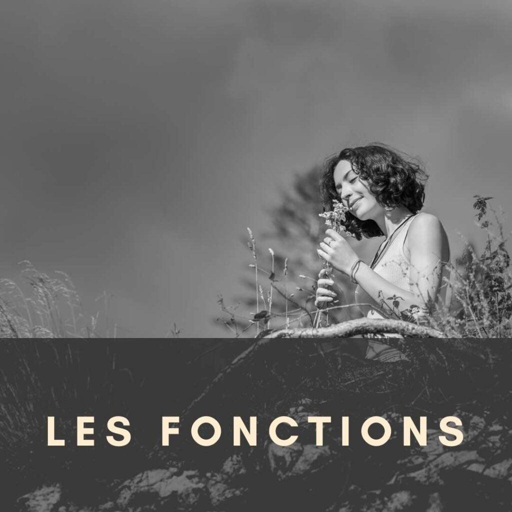 Parfumerie botanique et fonctions